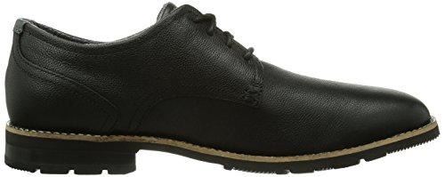 Rockport Lh2 Oxford, Chaussures à lacets homme Noir