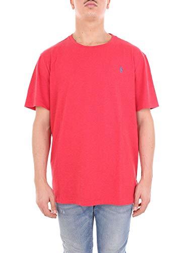 Preisvergleich Produktbild Ralph Lauren T-Shirt Manica Corta Logo Rosso Mod. 710671438 XL