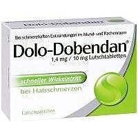 MCM Klosterfrau Vertrieb DOLO DOBENDAN 1,4 mg/10 mg Lutschtabl. 24 Stück preisvergleich bei billige-tabletten.eu