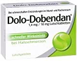 MCM Klosterfrau Vertrieb DOLO DOBENDAN 1,4 mg/10 mg Lutschtabl. 24 Stück