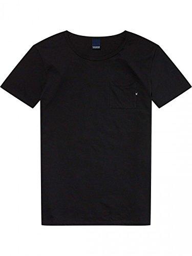 Scotch & Soda Herren T-Shirt 1 Pocket Black (90)