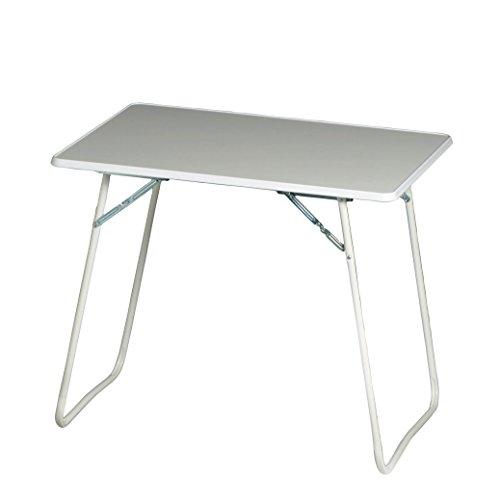 BEST 36506800 Campingtisch Chiemsee 60 x 80 cm, weiß