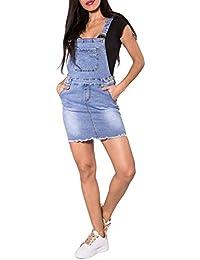 low priced 99e00 8a6e5 Amazon.it: salopette jeans donna - Gonne / Donna: Abbigliamento