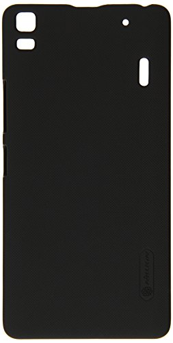 NILLKIN FROST Shield Hard Dotted Bumper Back Case Cover, For Lenovo A7000 - BLACK  available at amazon for Rs.320