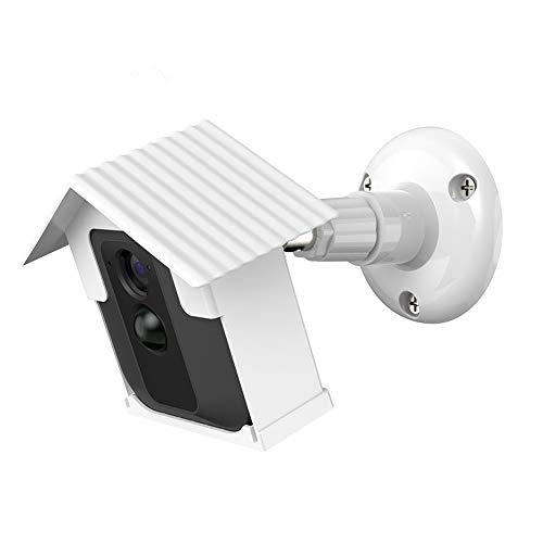 Wandhalterung BEECEMURU Wetterfestes Dach und Stabilität 360 Grad Schutz Einstellbare Innen-/Außenm (Weiß, 1 Pack)