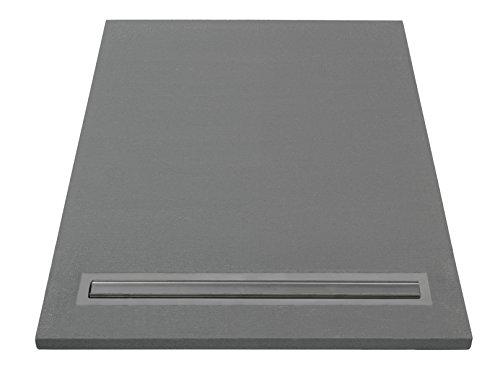 LAZER 372056 - PLATO DE DUCHA (LISTO PARA ALICATAR  CON DESAGE  900 X 1200 MM)