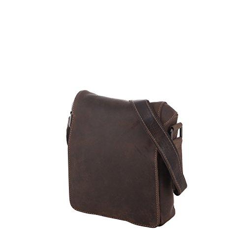 Rada Nature Umhängetasche 'Bogota' echt Leder Damen Handtasche in verschiedenen Farben khaki