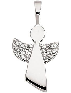 Engel Anhänger, Kettenanhänger mit Zirkonia aus 925 Sterling Silber