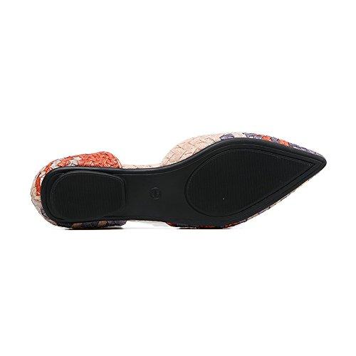 A&NDiug00029 - Scarpe chiuse Donna Orange