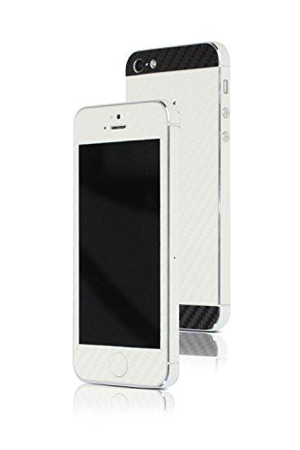 appskins Set de iPhone 5/5S/SE Carbon Pearl/Black