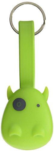Cable de carga USB munkees llavero para Micro-USB & Lightning para smartphones Verde verde
