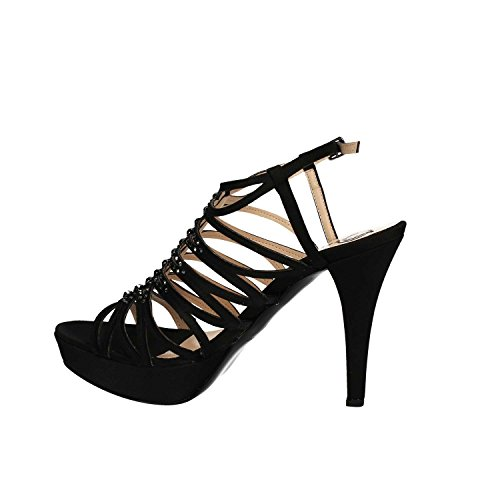 ... GRACE SHOES 3023 Sandalo tacco Donna Nero