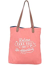 Mr. Wonderful Lovely Streets - Adventure awaits Cabas, 33 cm, Multicolore