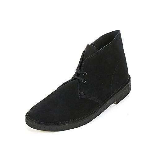 Clarks Originals Desert Boot, Boots femme - Bleu (Blue Suede), 38 EU (5 UK)