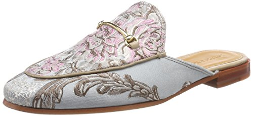 Melvin & Hamilton Scarlett 4, Mules para Mujer, Marrón (Crust/Sand with Footbed Side Feather Pale Multi), 36 EU Melvin & Hamilton