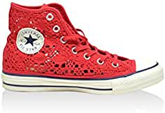 converse rosse donna 40