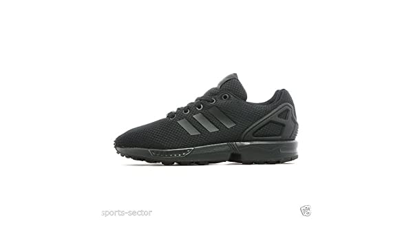 Adidas Zx Flux Black And Gold Junior