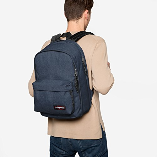 43 Cm L Eastpak double Back Denim Sac To Dos Work 27 À Bleu wnY6qBCYxH