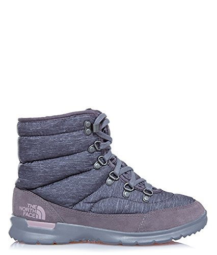 The North Face Damen W Thermoball Lace Ii Wanderschuhe Multicolore  (Grigio/Phtgyhp/Qualgry