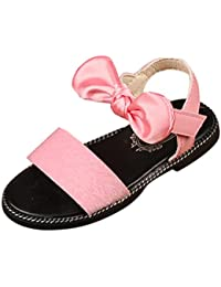 Huhua Sandals For Boys Fashion, Sandali Bambine, Rosa (Hot rosa), 39 EU