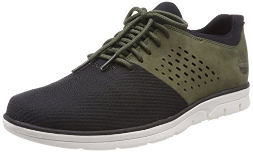 Timberland Brook Park Light, Zapatos de Cordones Oxford para Hombre, Negro (Black Mincio 001), 40 EU