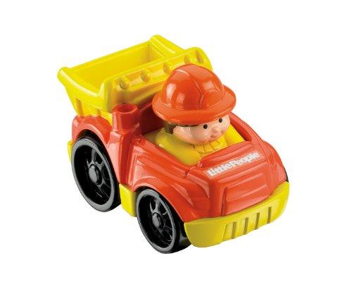 Preisvergleich Produktbild Mattel Fisher-Price Little People Fahrzeug mit Figur (T5625)