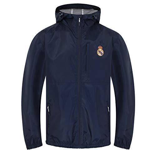 Real Madrid - Chaqueta Cortavientos Oficial - Hombre