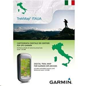Garmin TOPOGRAFISCHE KARTE - TREKMAP ITALIA V2