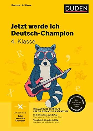 Jetzt werde ich Deutsch-Champion: Deutsch 4. Klasse