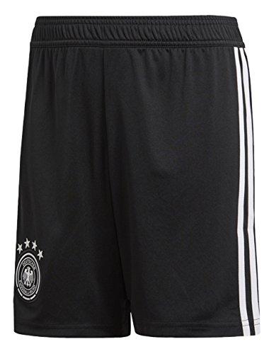 adidas Kinder Dfb Heim-Shorts WM 2018 Fußballshorts, Schwarz/Weiß, 152