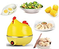7 Eggs Boiler, Poacher, Steamer Egg Boiler