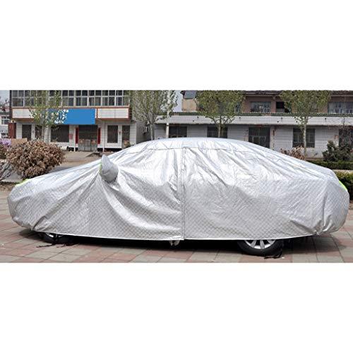 IMBM Car Cover Four Seasons Disponible Thicken Dupont Upgrade Argent imperméable/Vent/Soleil/étanche à la poussière de Coton d'isolation Voiture Pleine Couverture Durable