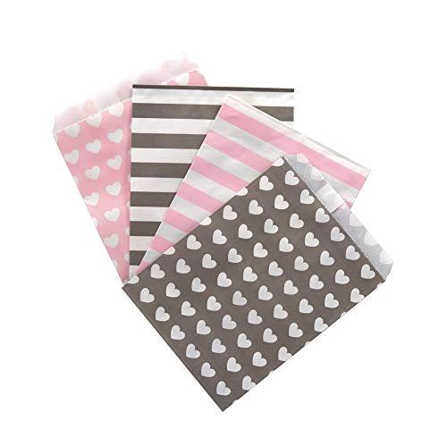 Papiertüten Design Mix | 100 Stück
