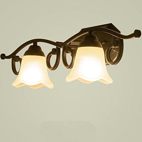 kaufte American klassischen Wohnzimmer Doppel-Scheinwerfer Schlafzimmer Nachttisch Lampe Kleider Tischlampe TV [Effizienzklasse : A +] (Tv Kleid)