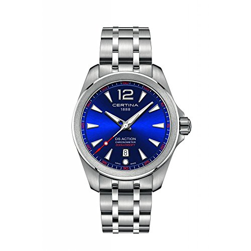 Certina Men's DS Action Diver 41mm Steel Case Quartz Watch C032.851.11.047.00