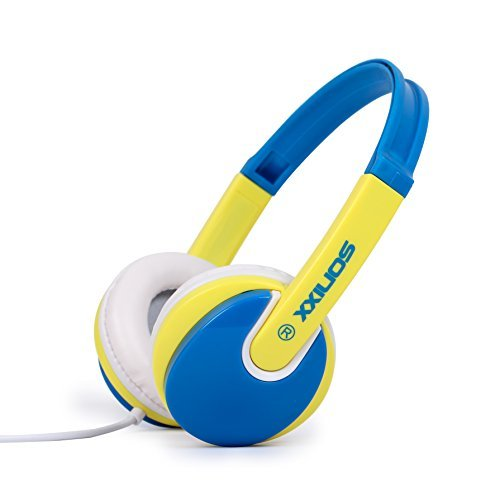 sonixx-kids-headphones-85db-volume-limited-for-children-boys-blue-yellow