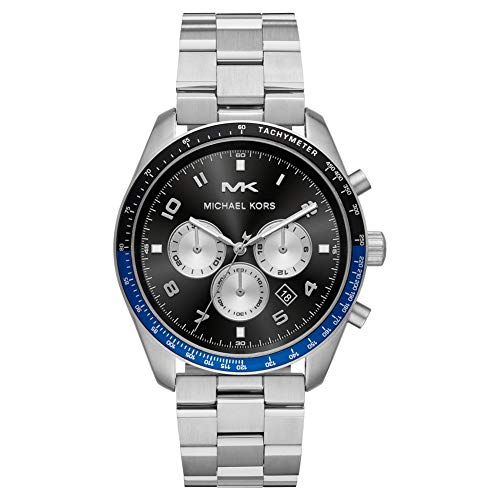 Michael Kors Keaton Silver Stainless Steel Men's Watch MK8682