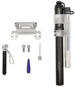 Mini Pompe à Vélo OPUL - Alliage d'Aluminium de Qualité, Technologie Haute Pression, Pompe à Ballon, Pompe à Main