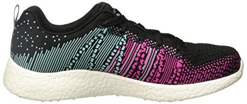 Skechers Skechers BURST 12437CCPK, Damen Sneaker schwarz, blau/rosa