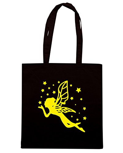 T-Shirtshock - Borsa Shopping FUN0578 ange fairie 38102 Nero