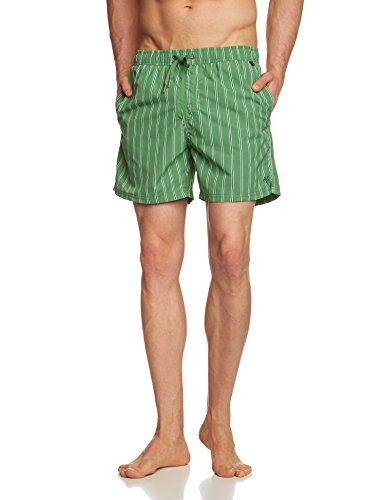 Marc O'Polo Body & Beach Swimshorts - Short de bain - Homme Vert - Grün (grün 700)