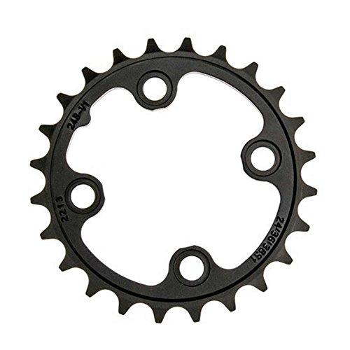 Sram Kettenblatt MTB 22T, LK:64mm, Alu, schwarz 2x10, NO-PIN, (GX), 11.6218.023.001, 104mm