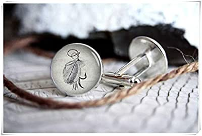we are Forever family Fishing Lure Cuff Link,Vintage Drawing Cufflink, Personalized Custom Cufflinks,Gifts for Men, Wedding Cuff Link from Forever family