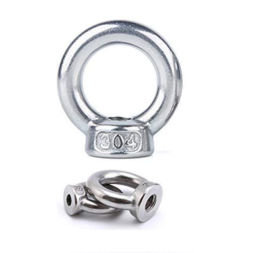 Lifting Eye Mutter 304 Edelstahl Hardware Ring geformt Lifting Eye Mutter M3 M4 M5 M6 M8 M10 M12 M14 M16 verfügbar