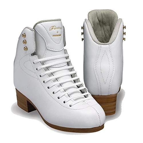 SKATE GURU Jackson Ultima/Figure & Roller Skating-Stiefel: Elite, Premier, Debut, Competitor, Finesse, Damen, Size: Adult 4 / Width: Regular (C, M)