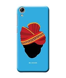 Be Awara Marwari Mard Designer Mobile Phone Case Back Cover For HTC Desire 728 Dual Sim