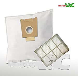 30x sacs aspirateur + 1filtre HEPA compatible BOSCH BSA 2322/02–/05Sphera 23