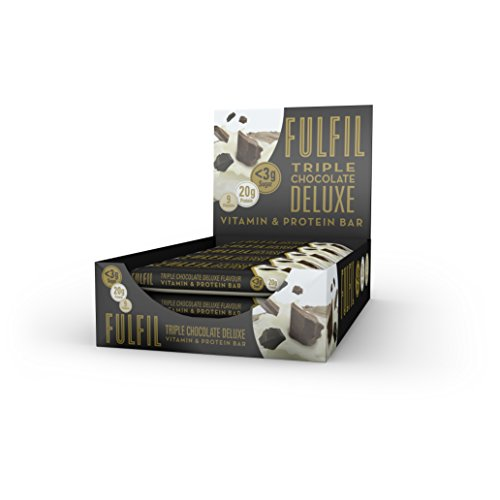 Fulfil Erfülle Vitamin & Protein Bar 15x55g Triple-Choc Deluxe -