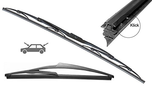 2x SWISSINT Premium-Ersatz-Gummis 610 mm für Standard Scheibenwischer *Made in Germany*