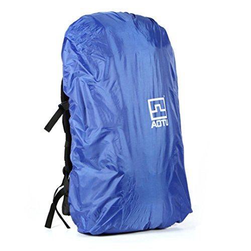 kingko® AOTU couvercle sac à dos de pluie Alpinisme Sac Randonnée Camping Sac étanche bleu